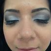 Maquiagem social #prata #preto #maquiagem #lovemakeup