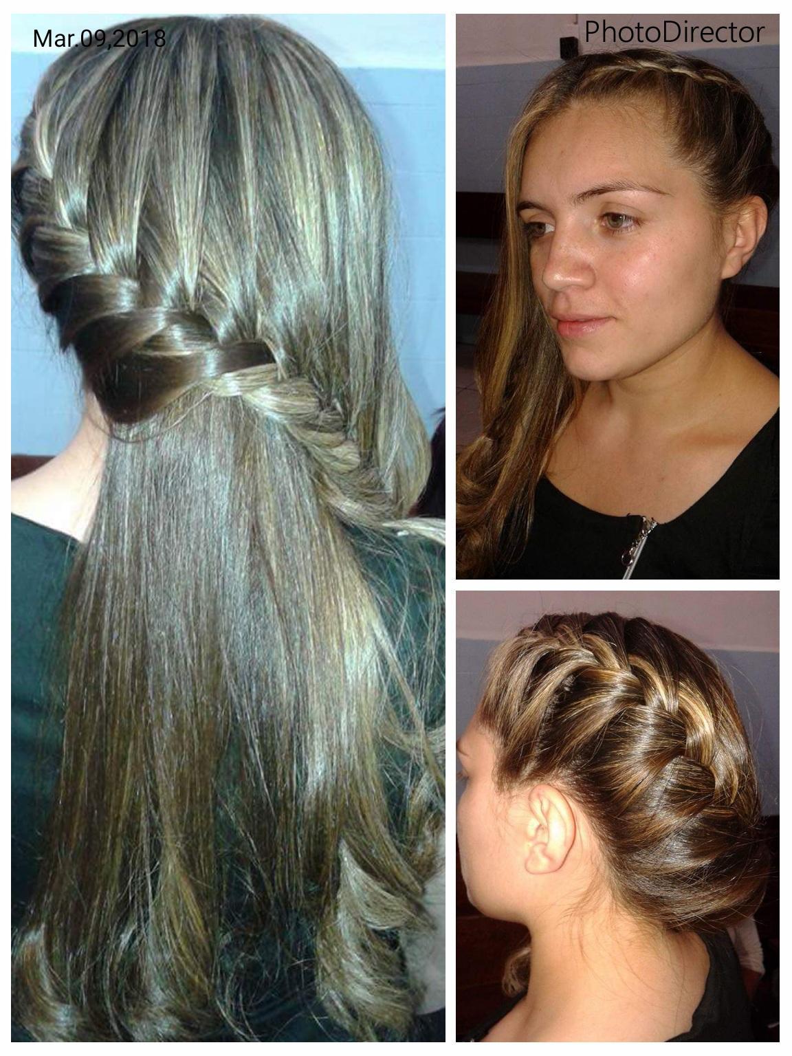 #penteadosimples cabelo auxiliar cabeleireiro(a)