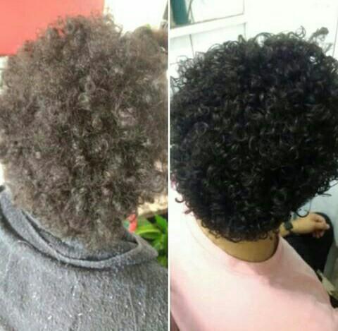 Relaxamento para soltar os cachos. Resultado: Cachos abertos, definidos, tratados e mais fáceis de cuidar no dia a dia. cabelo cabeleireiro(a)