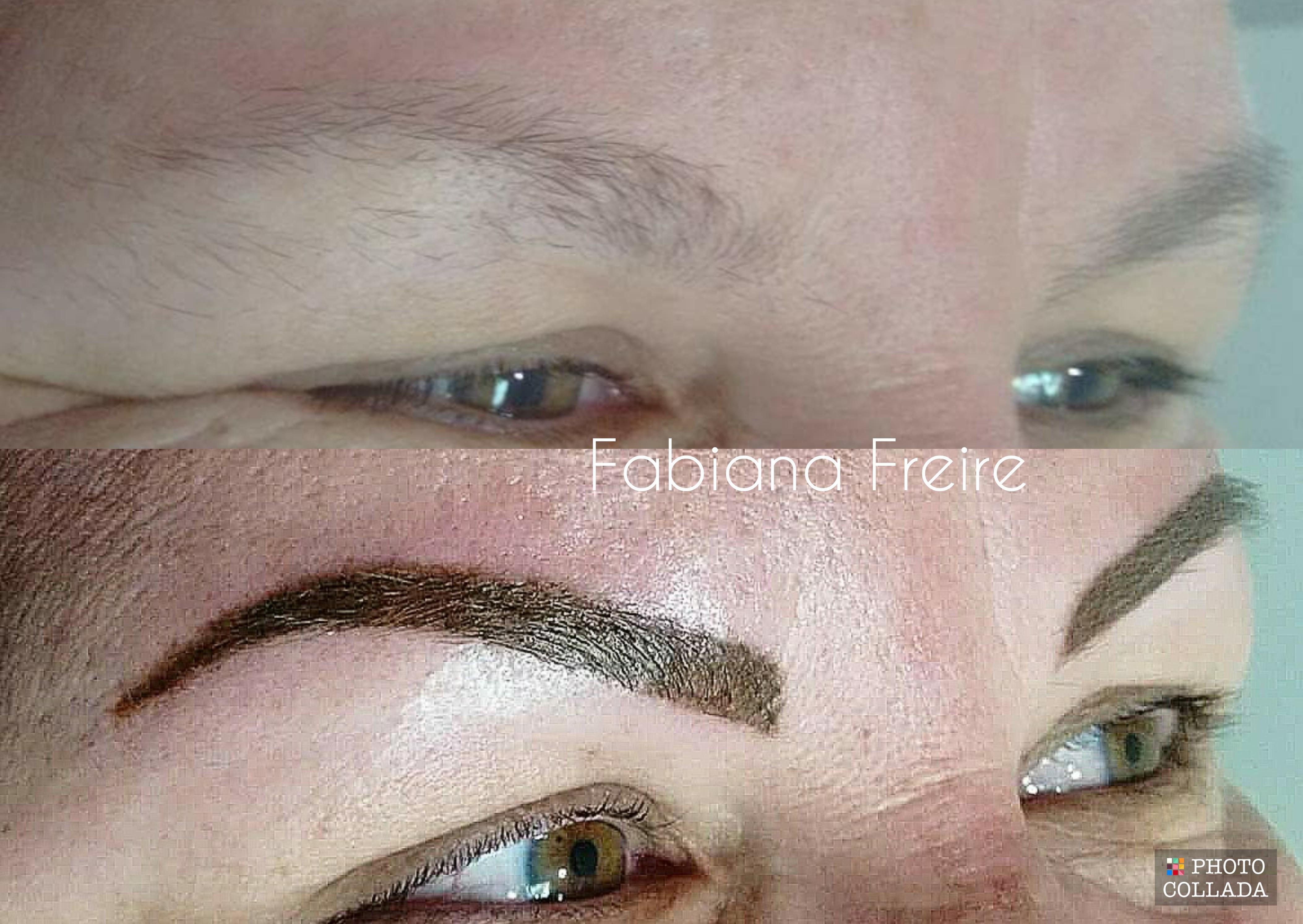 Sobrancelhas Micropigmentadas maquiagem dermopigmentador(a) designer de sobrancelhas