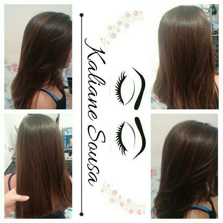 Escova+prancha ❤ cabelo estudante (cabeleireiro) designer de sobrancelhas