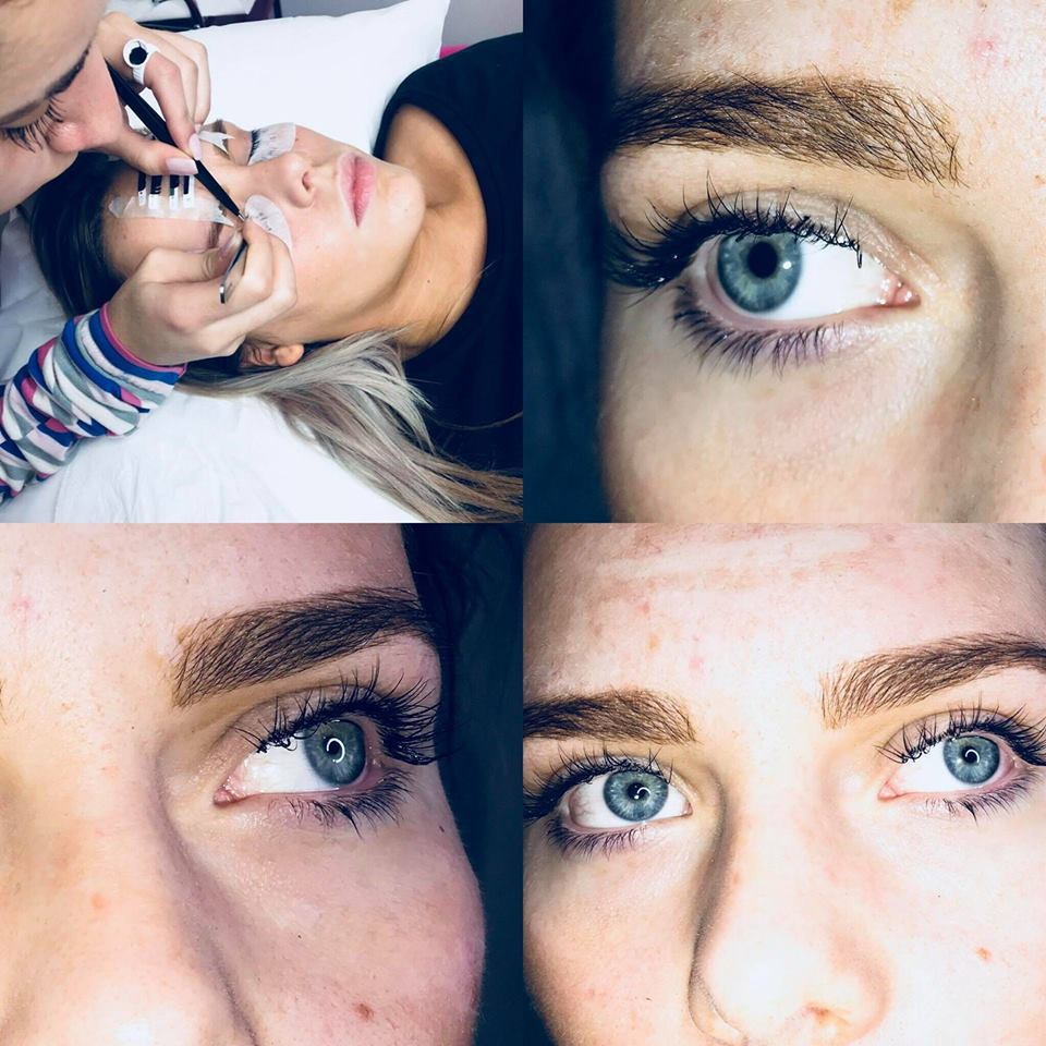 Alongamento de cílios e Design de Sobrancelhas estética designer de sobrancelhas