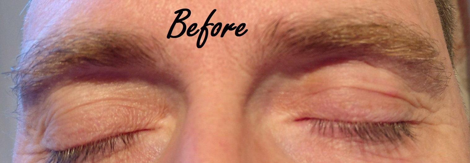 Sobrancelha homem estética designer de sobrancelhas