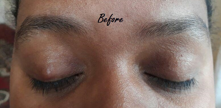 estética designer de sobrancelhas