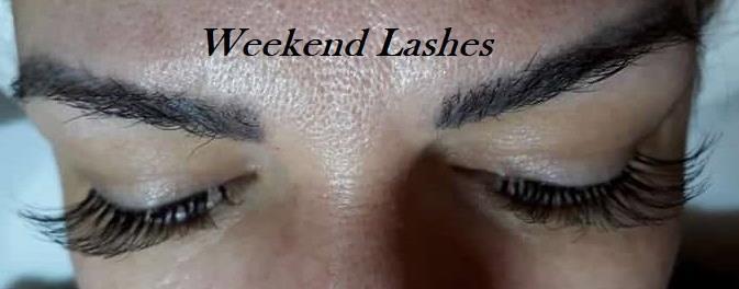 Alongamento de cílios Final de Semana estética designer de sobrancelhas