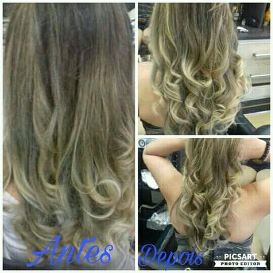 Mechas, matizadas e tonalizadas cabelo cabeleireiro(a)