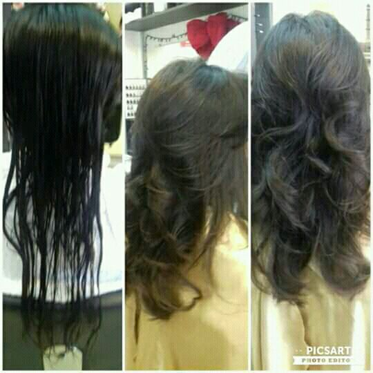 Corte degrade com franja cabelo cabeleireiro(a)