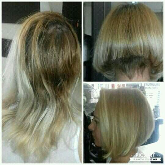 Corte long bob com bico cabelo cabeleireiro(a)