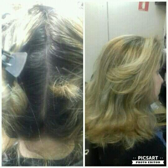 Retoque de raiz cabelo cabeleireiro(a)