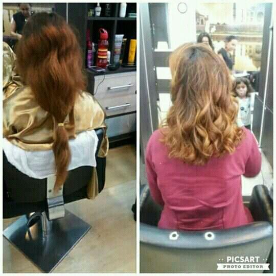 Corte em camadas cabelo cabeleireiro(a)