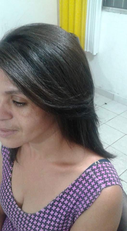 Depois ... Escova cabelo auxiliar cabeleireiro(a)