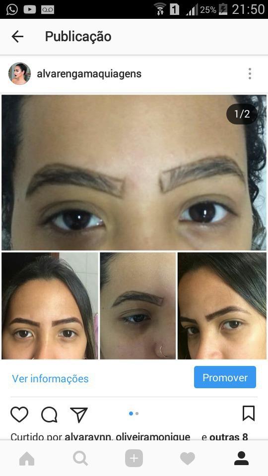 Muitas novidades na pág meninas, design de sobrancelhas e correção com hena!  outros estudante (designer sobrancelha) estudante (maquiador)