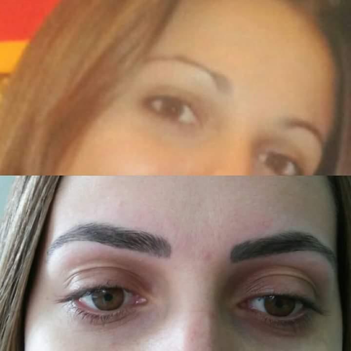 Micropigmentação fios e shadow  estética dermopigmentador(a) designer de sobrancelhas depilador(a)