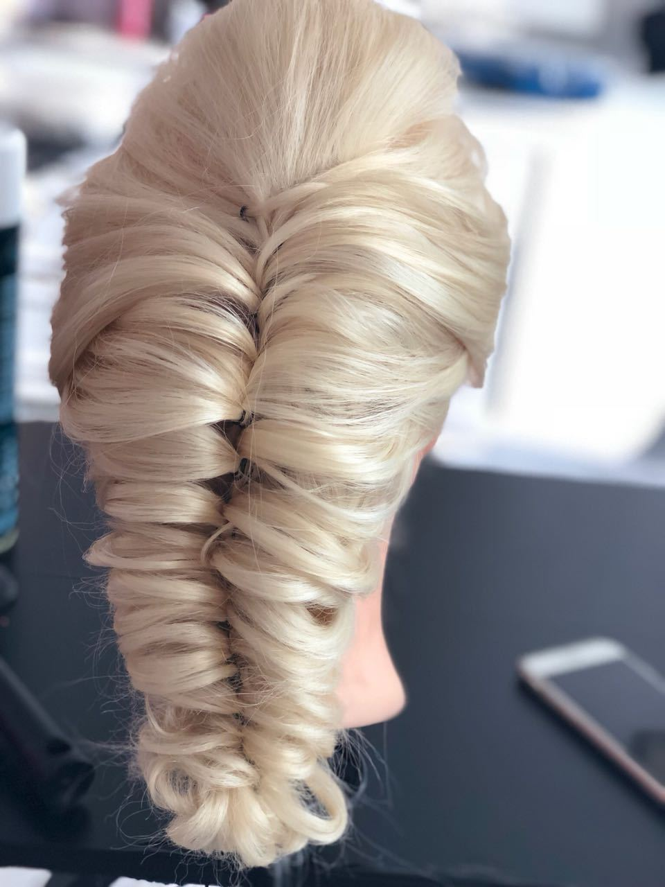 Penteado #trancaromana cabelo cabeleireiro(a) maquiador(a)