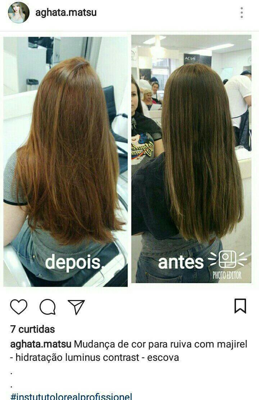 Titura ruiva e escova auxiliar cabeleireiro(a) auxiliar cabeleireiro(a) auxiliar cabeleireiro(a)