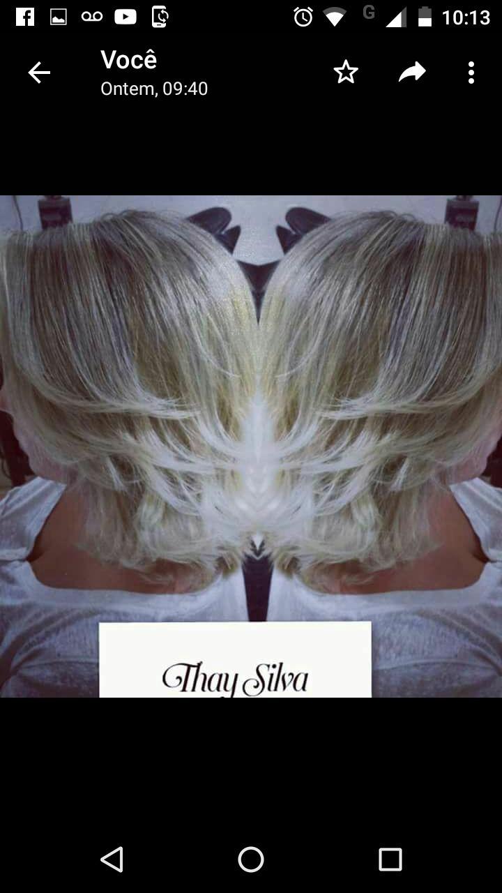 Meus loiros cabelo cabeleireiro(a)