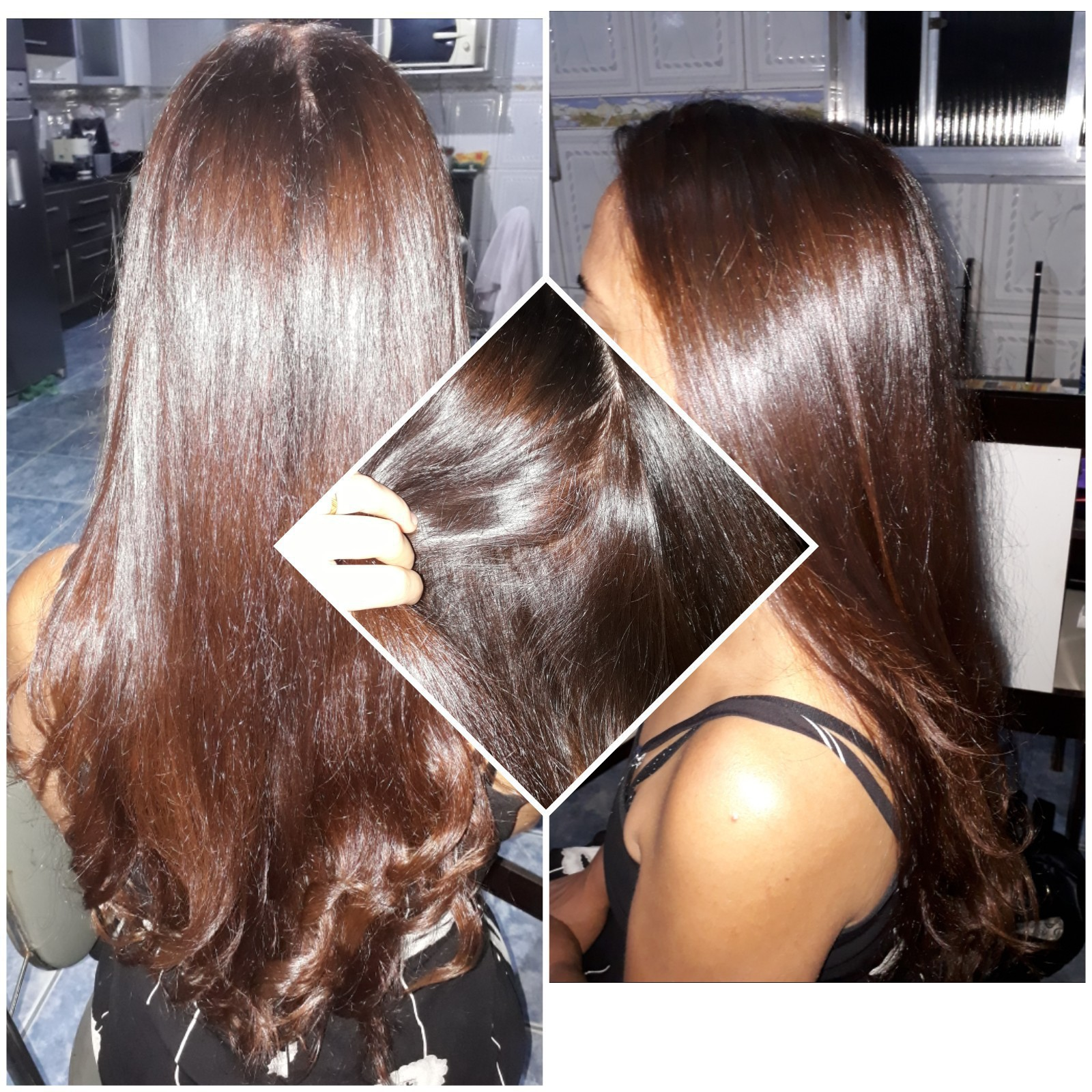 Coloração + escova e prancha ! cabelo designer de sobrancelhas estudante (cabeleireiro)