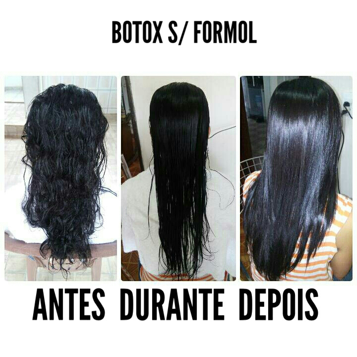 Botox sem formol  cabelo auxiliar cabeleireiro(a)