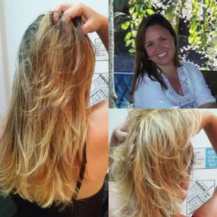 #Transformação de cor cabelo cabeleireiro(a)