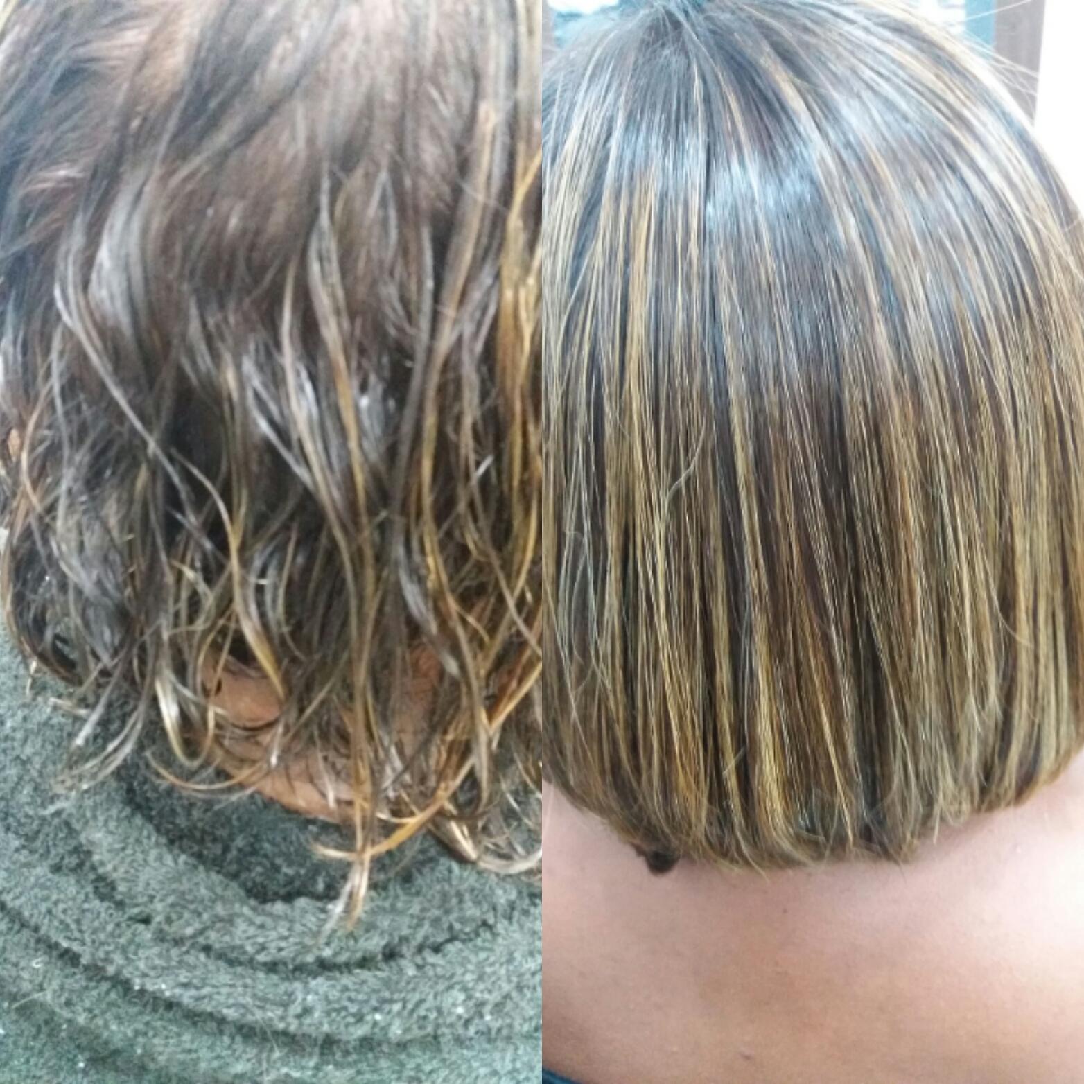 Transformação da estrutura! Escova Progressiva!  cabelo cabeleireiro(a)