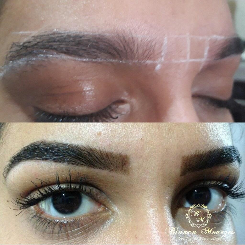 Design com henna 😍 estética designer de sobrancelhas