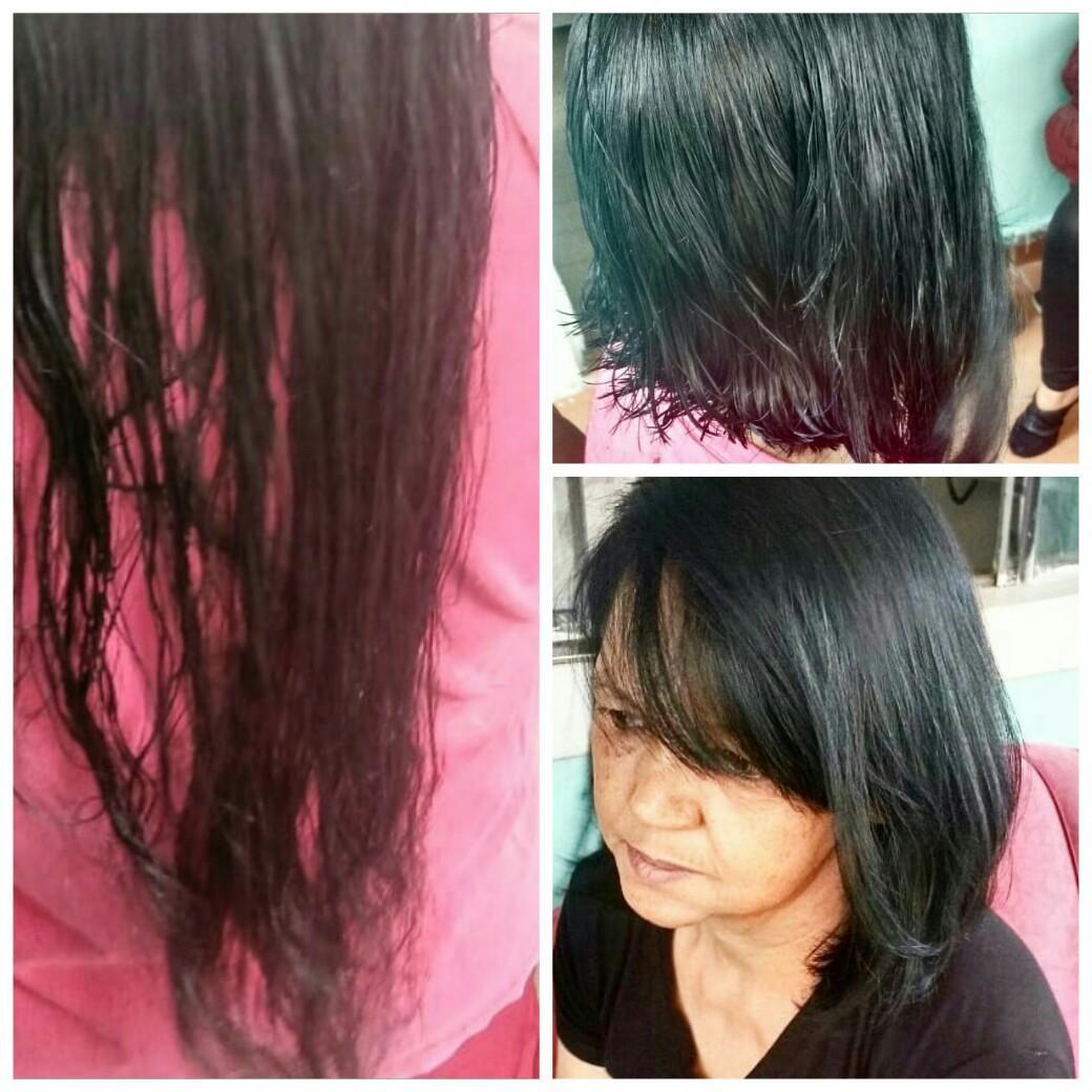 Corte e escova #Chanel💕  cabelo cabeleireiro(a) designer de sobrancelhas