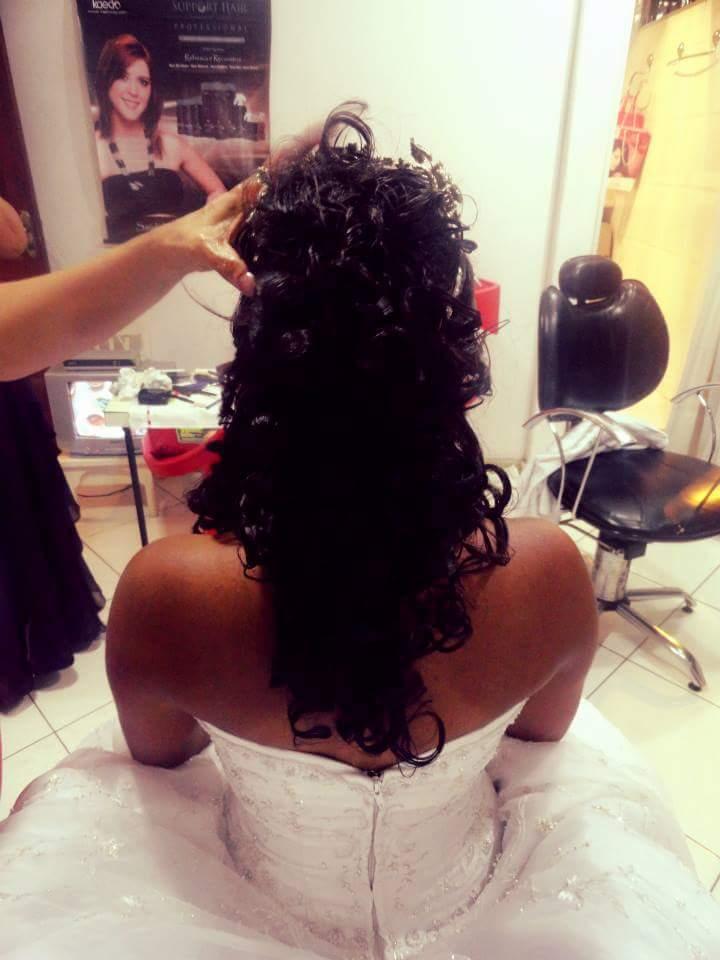 Penteado para Noiva! cabelo cabeleireiro(a)