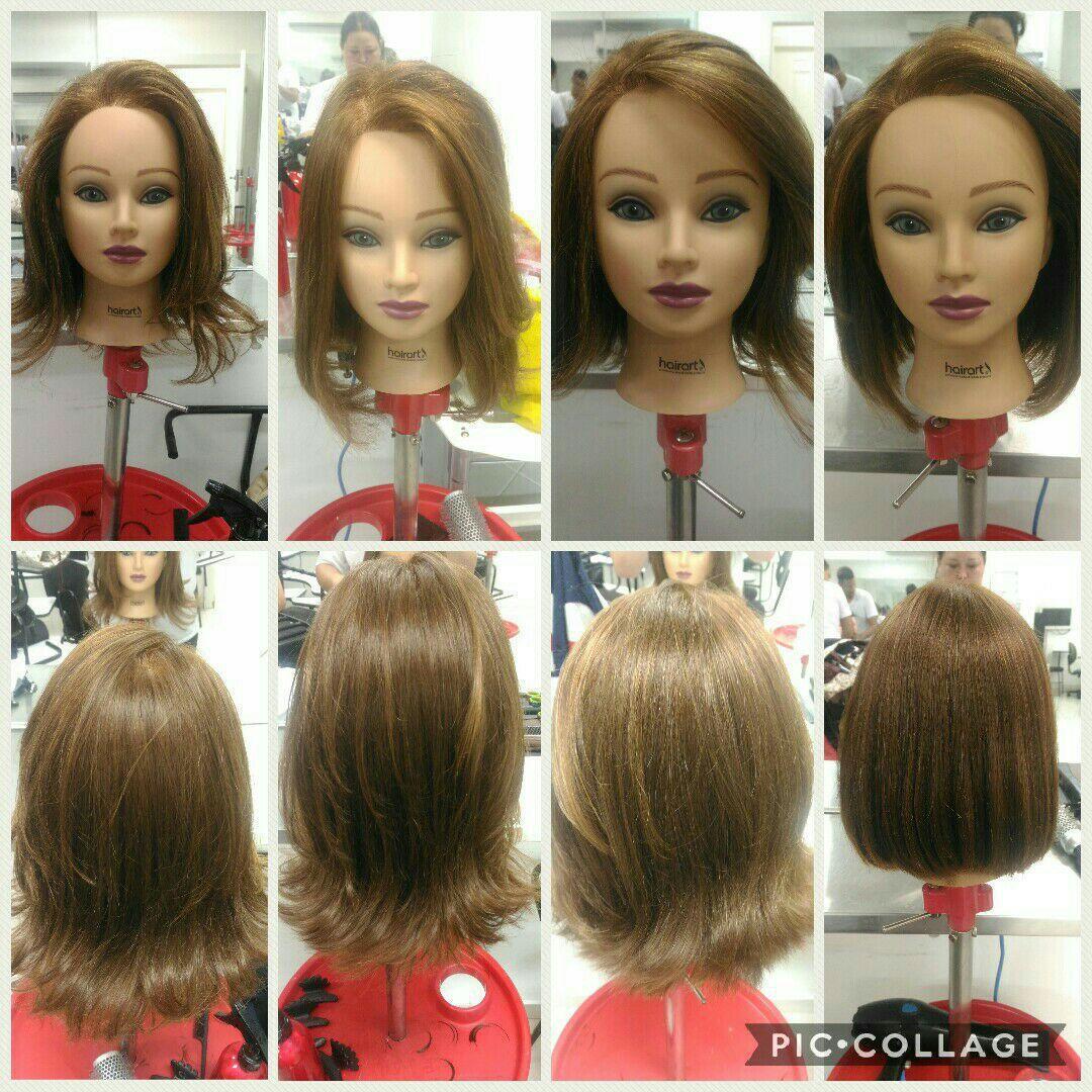 Cortando a Mia cabelo maquiador(a) micropigmentador(a) designer de sobrancelhas cabeleireiro(a)