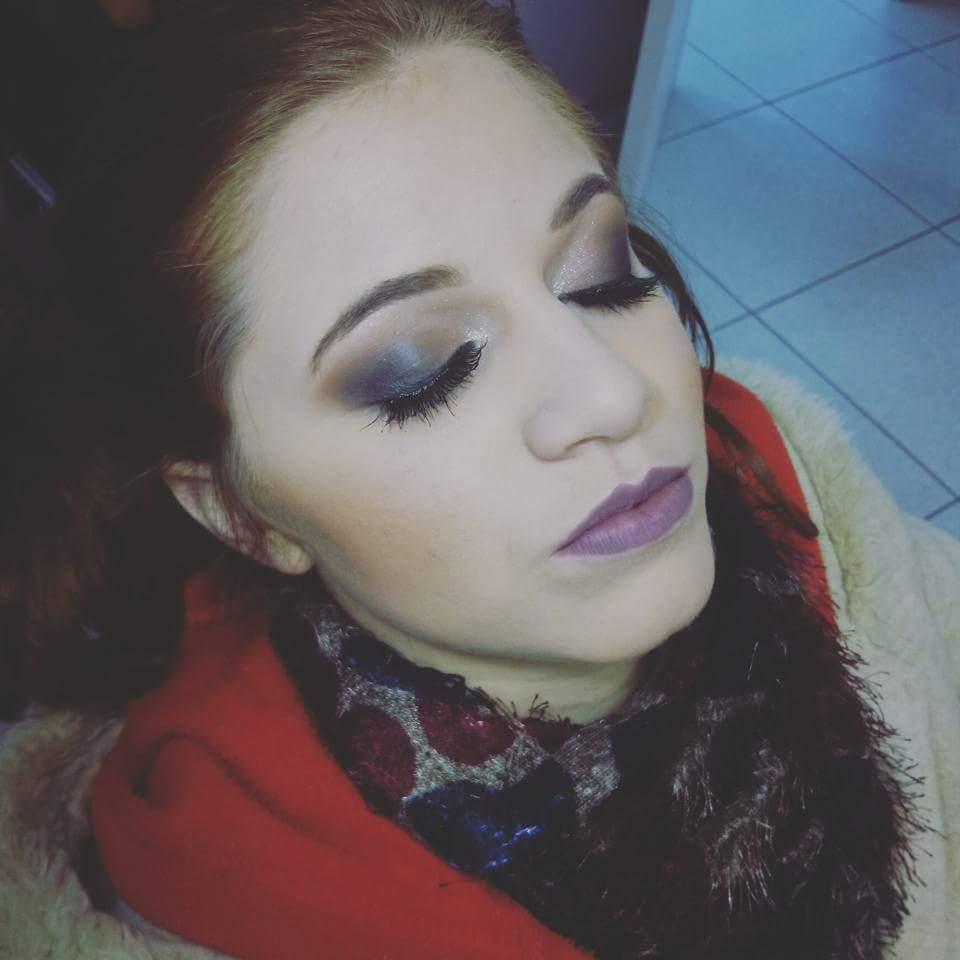 Esfumado Diagonal. maquiagem maquiador(a)