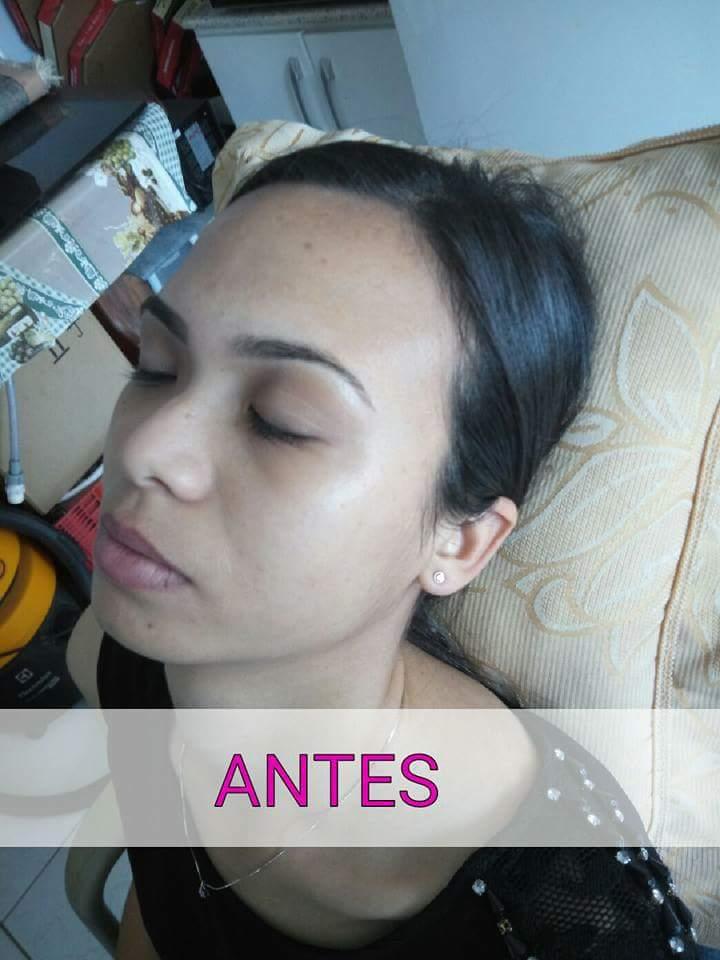 Antes de uma maquiagem para Formanda. maquiagem maquiador(a)