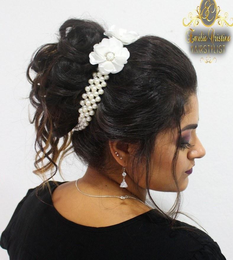 Coque despojado😘😍 cabelo cabeleireiro(a) stylist / visagista