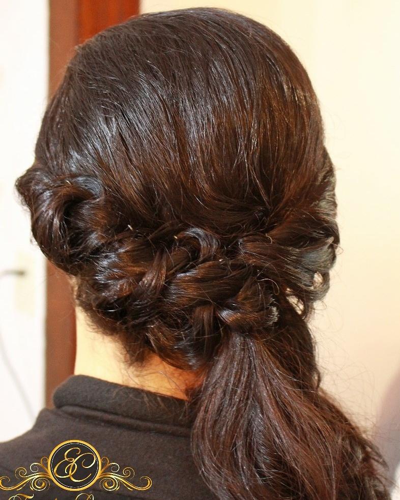 Penteado despojado lateral #Penteado lateral#casamento na Praia#madrinhas#penteadosdespojados cabelo cabeleireiro(a) stylist / visagista
