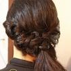 Penteado despojado lateral #Penteado lateral#casamento na Praia#madrinhas#penteadosdespojados