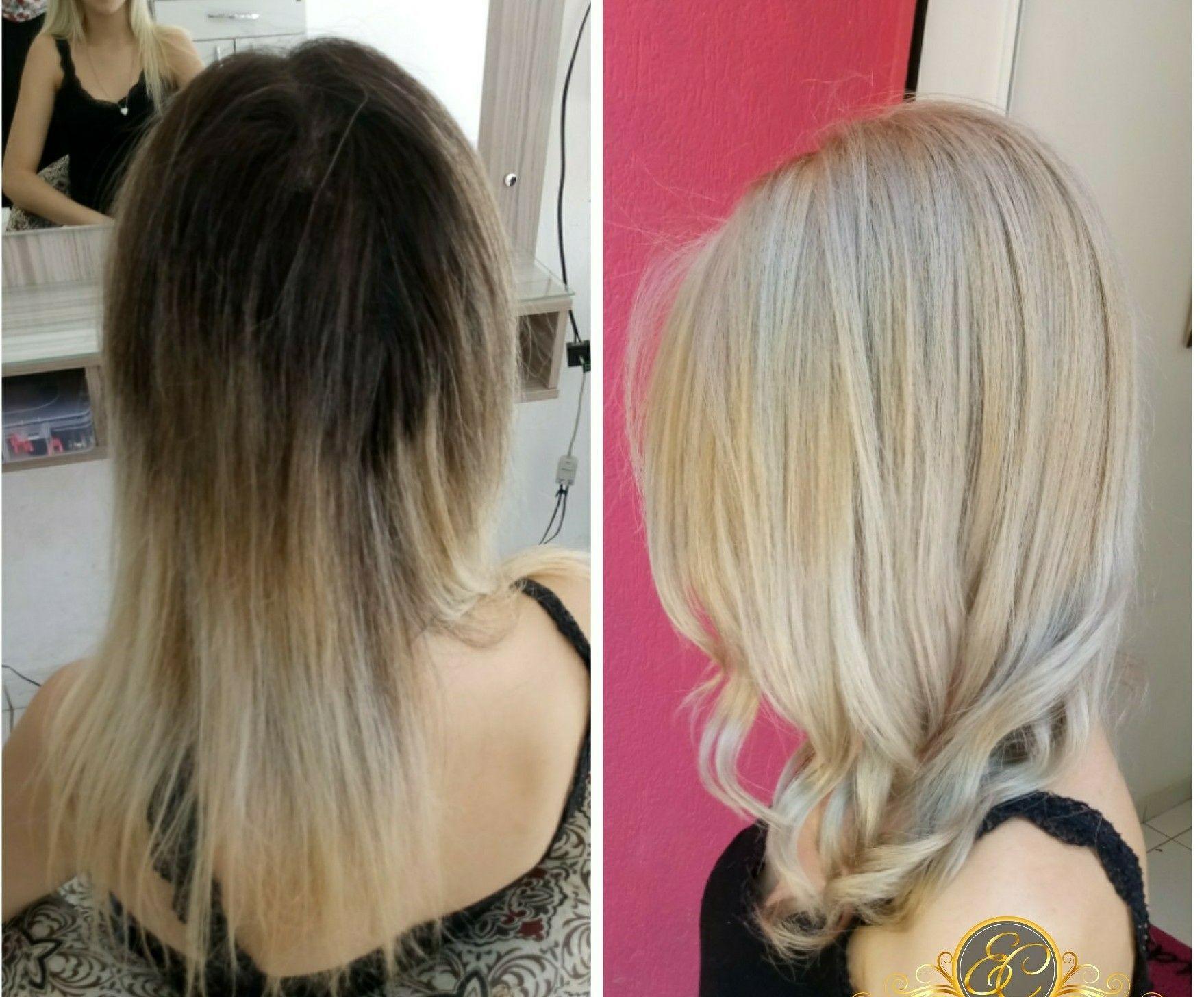 Descoloração Global !loiro BEIGE#loirobeige #descoloraçaoglobal# cabelo cabeleireiro(a) stylist / visagista
