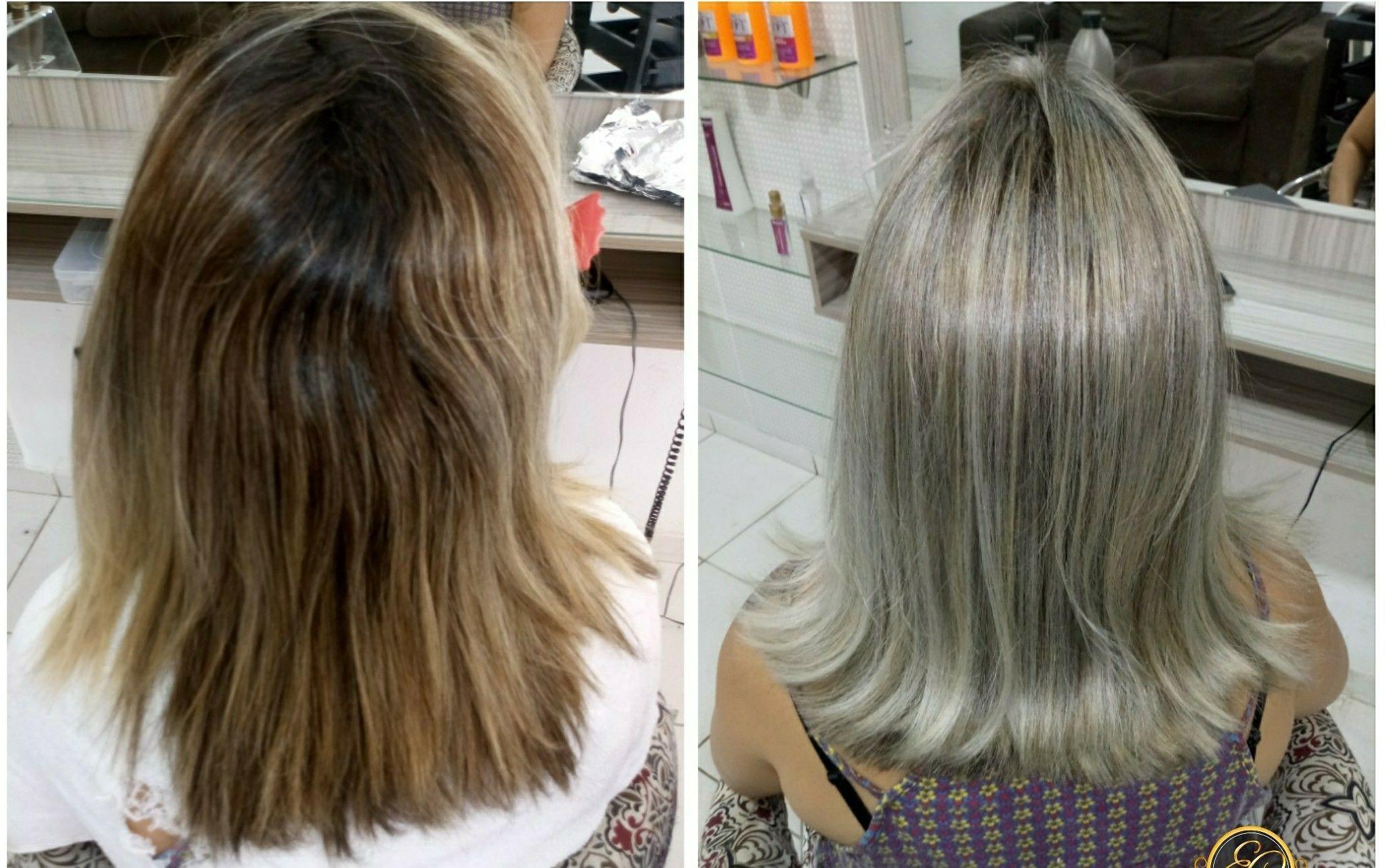 Luzes na touca platinado#luzesnatouca#loiro platinado#loiros cabelo cabeleireiro(a) stylist / visagista