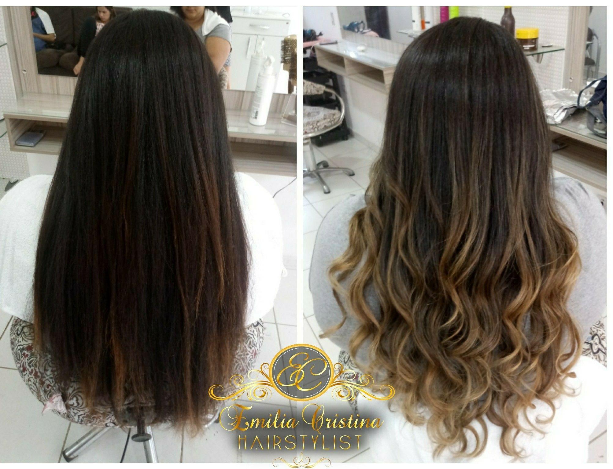 Morena iluminada#loiromarrondourado#morenailuminada cabelo cabeleireiro(a) stylist / visagista
