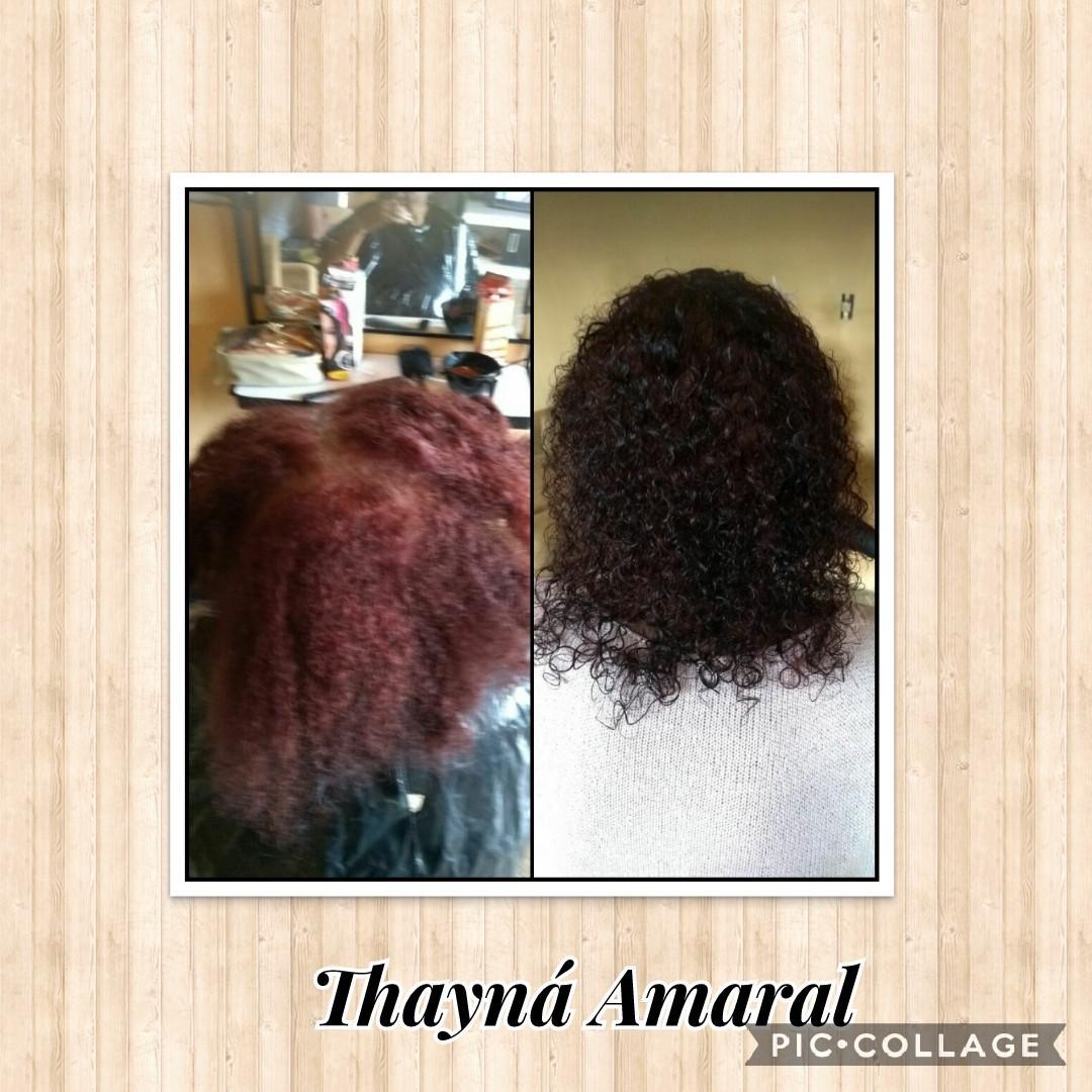 Colorindo os fios brancos e deixando todo por igual. #Coloração #Mega_tratamento 💘  cabelo cabeleireiro(a)