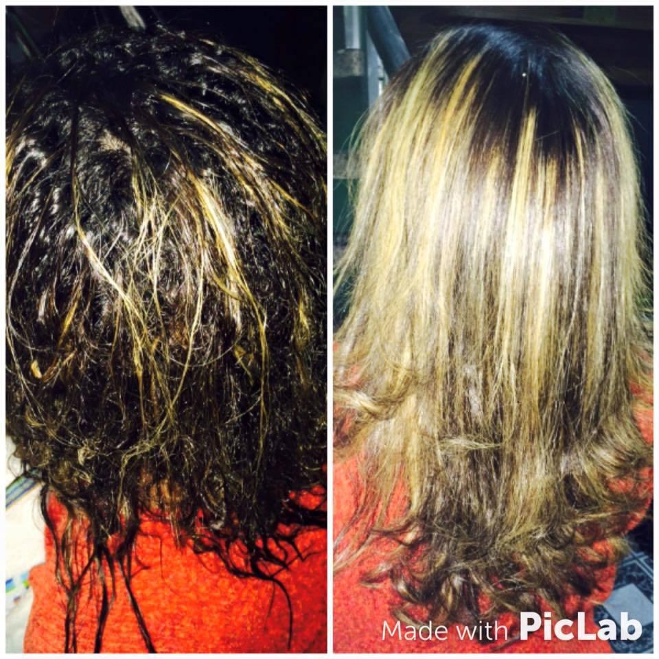 Progressiva em cabelo afro e cacheado cabelo auxiliar administrativo cabeleireiro(a)
