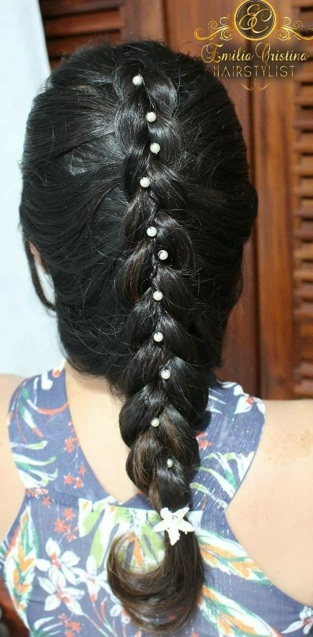 Trança embutida cabelo cabeleireiro(a) stylist / visagista