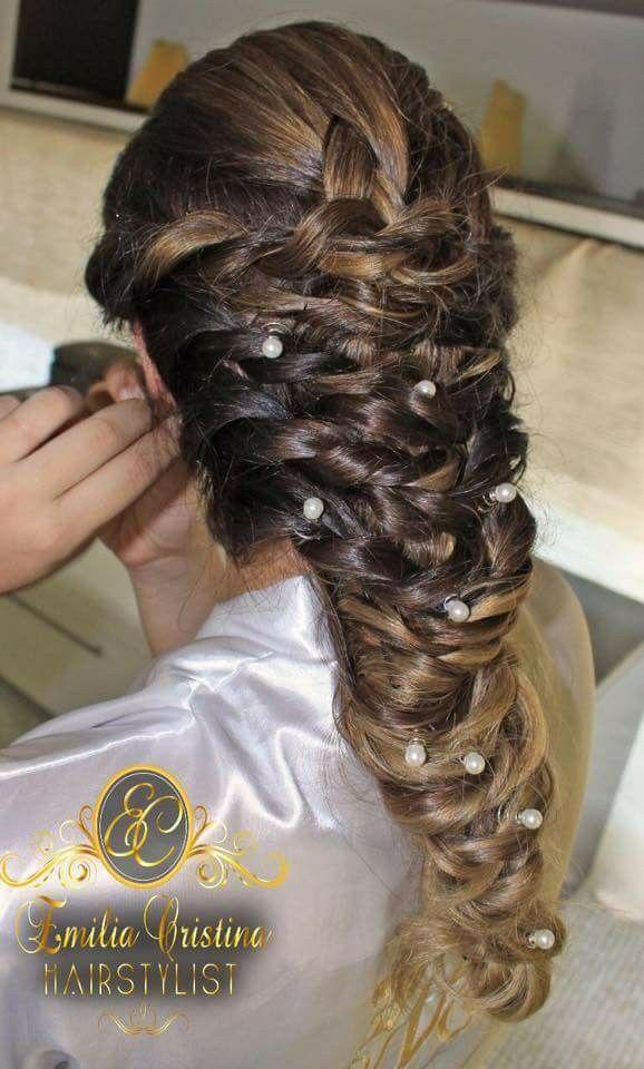 Trança despojada😍 cabelo cabeleireiro(a) stylist / visagista