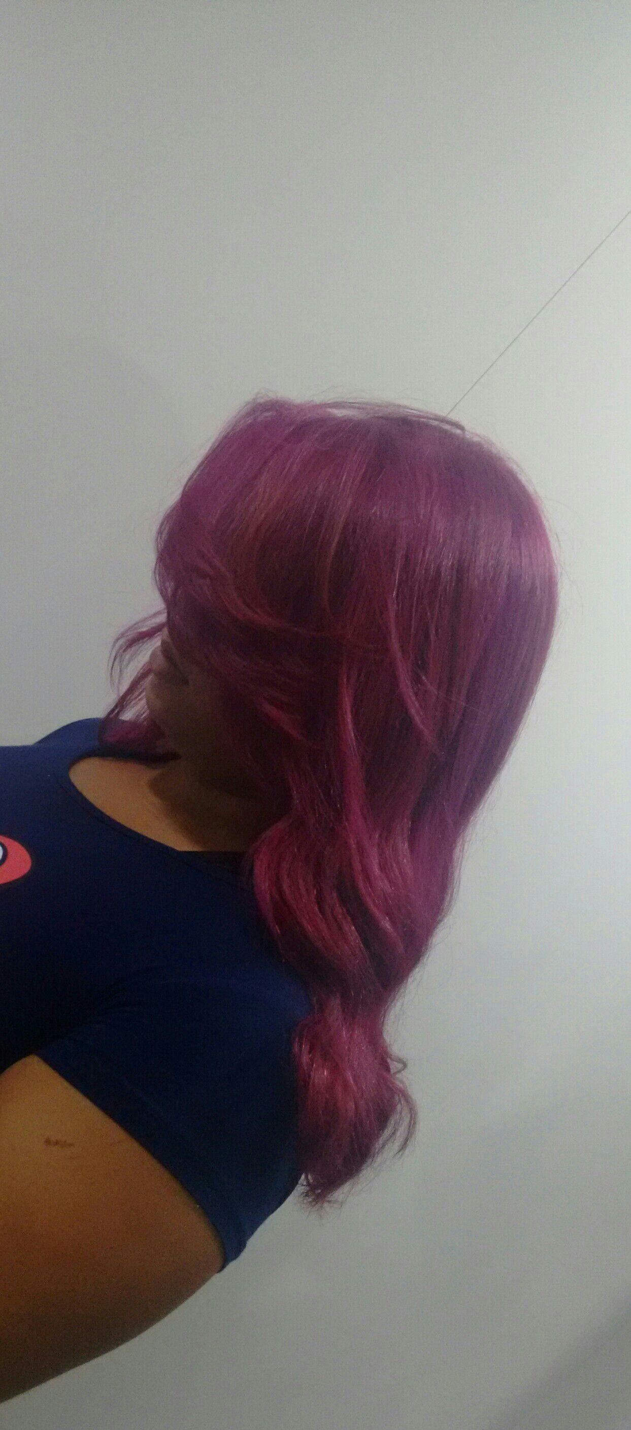 Marsala descoloração global + coloração 9.89 igora cabelo estudante (cabeleireiro) designer de sobrancelhas