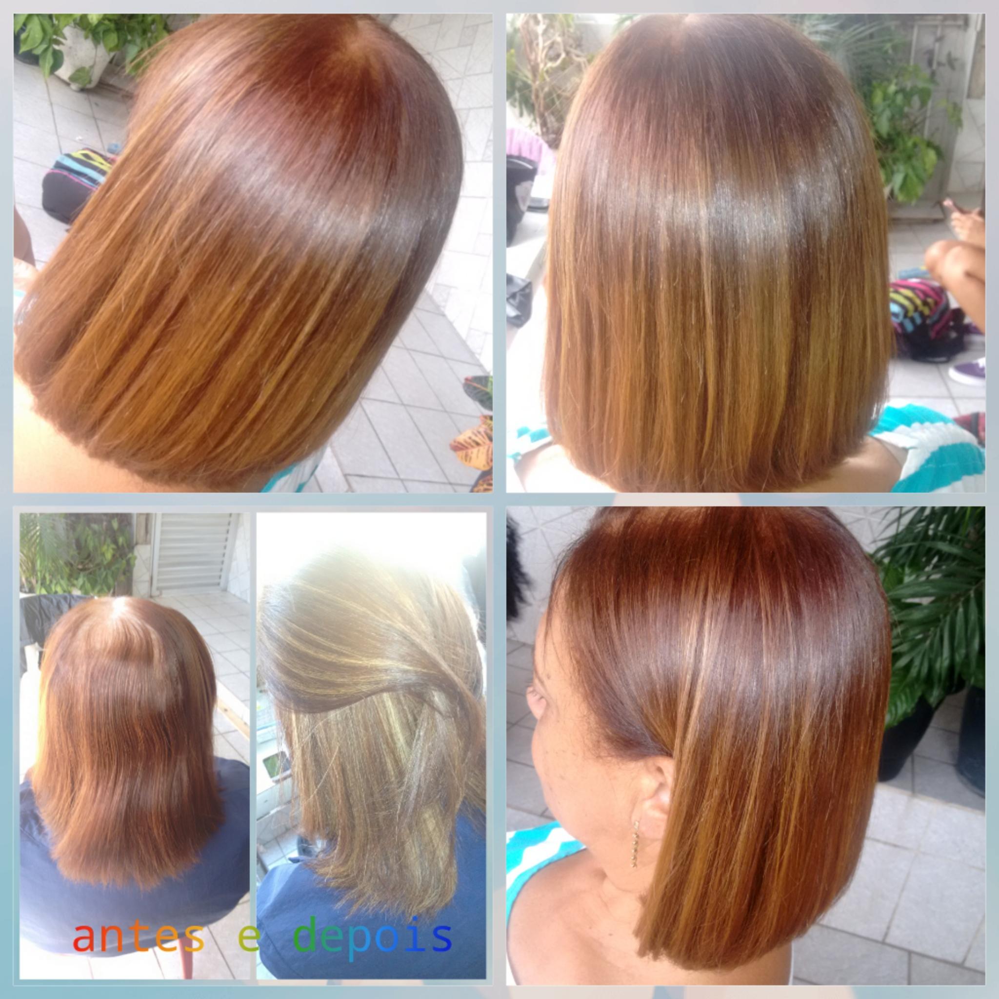 #Transformação  luzez caramelo . cabelo cabeleireiro(a)