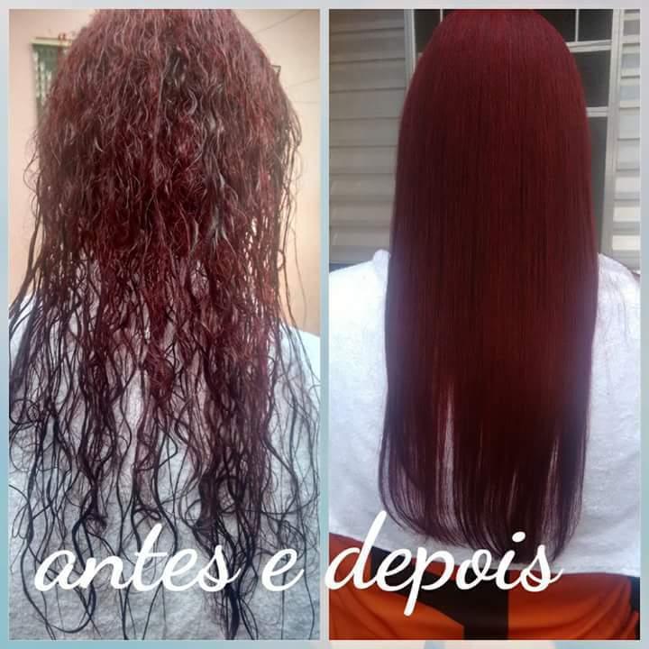 Escova  redutora. cabelo cabeleireiro(a)