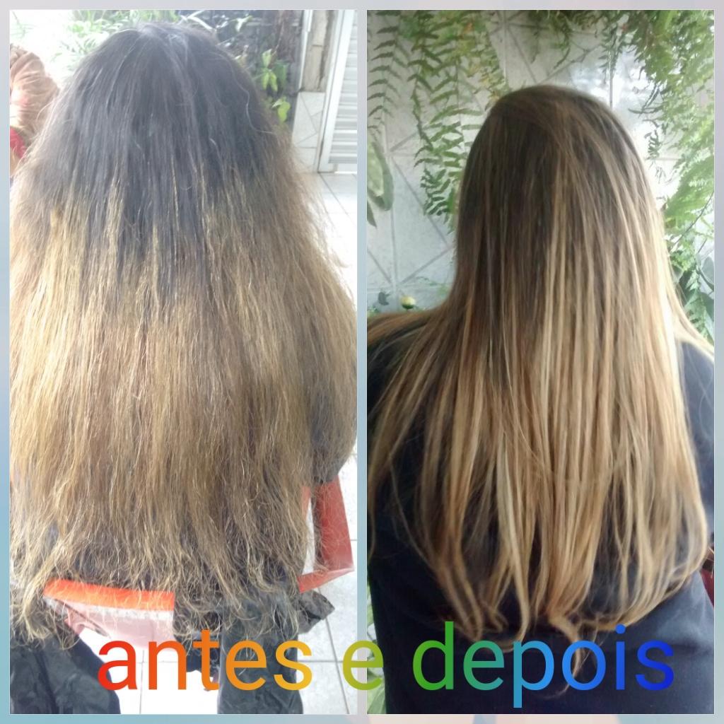 Retoque de raiz luzes e reconstrução.  cabelo cabeleireiro(a)