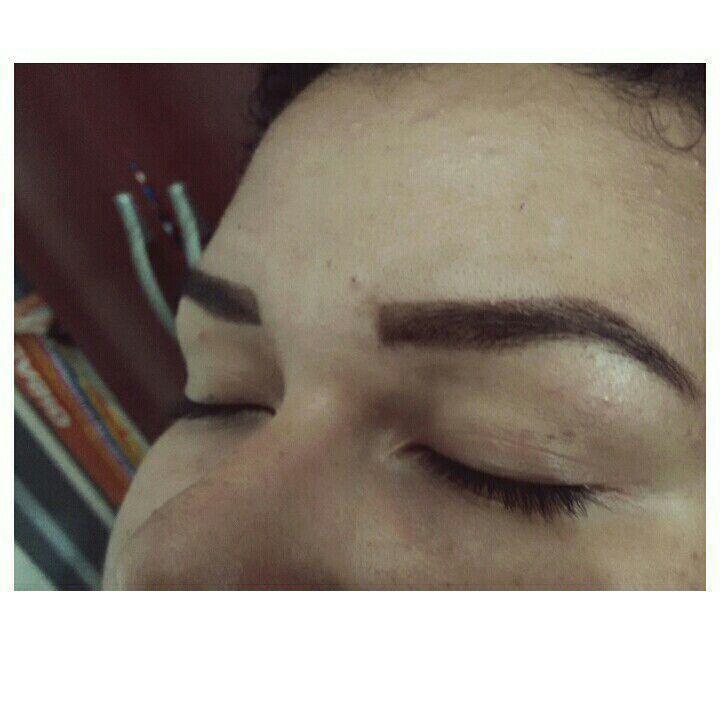 Design com henna outros estudante (cabeleireiro) designer de sobrancelhas