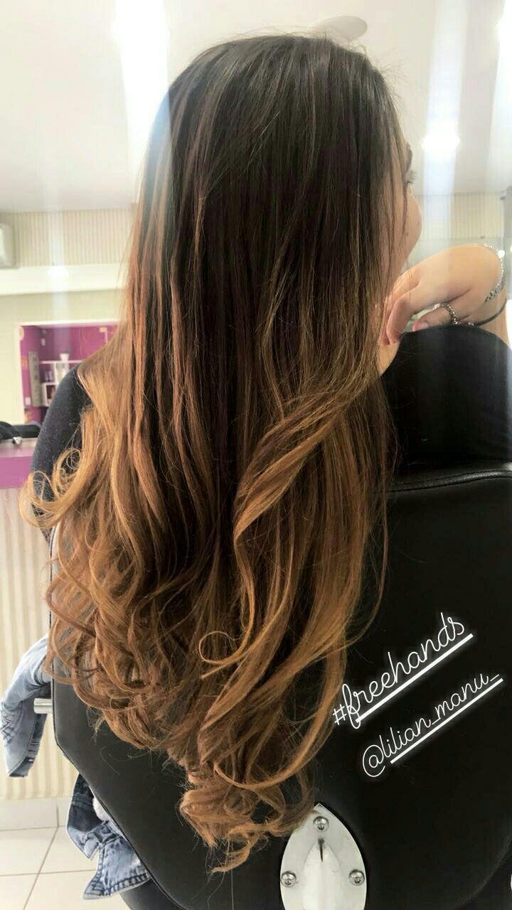 Freehands marron acobreado cabelo cabeleireiro(a)