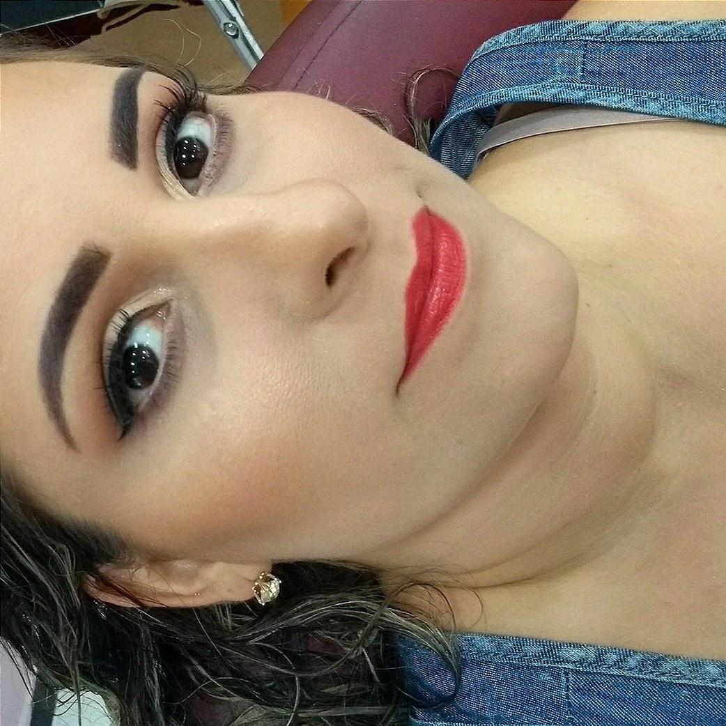 ❤️😍 apaixonada por essa make #makeupraynascimento maquiagem maquiador(a) designer de sobrancelhas