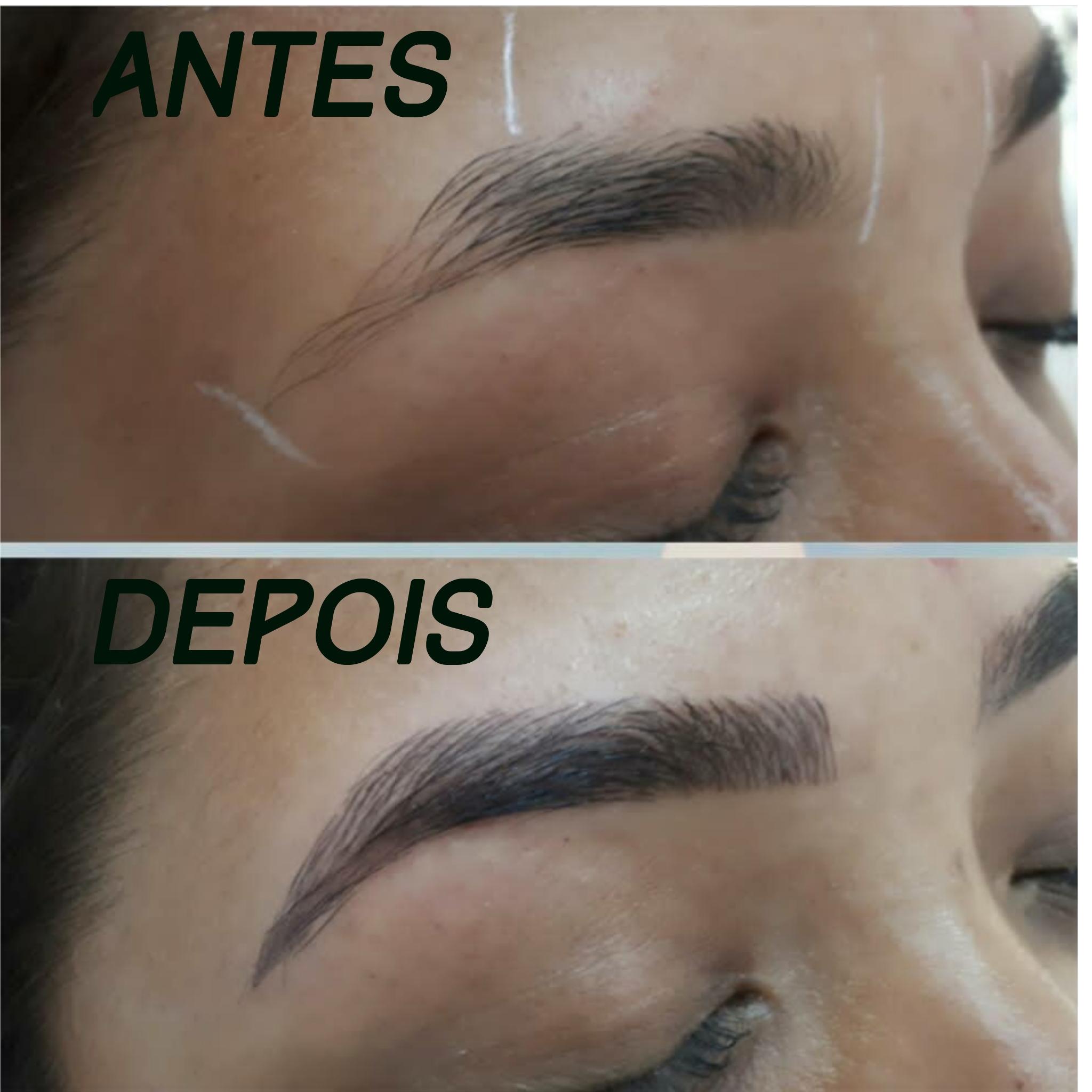 Micropigmentaçao estética designer de sobrancelhas micropigmentador(a) depilador(a)