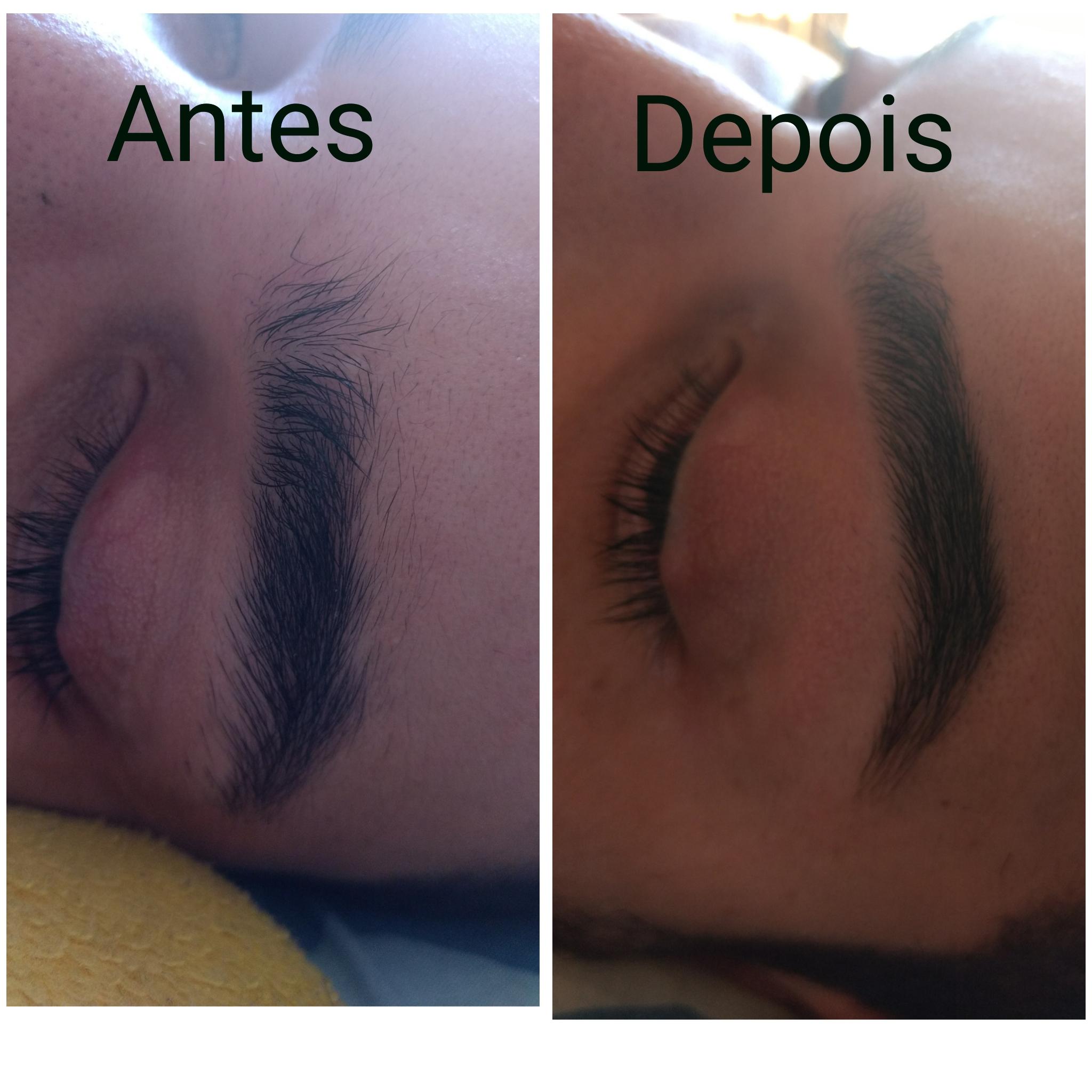 Design masculino estética designer de sobrancelhas micropigmentador(a) depilador(a)