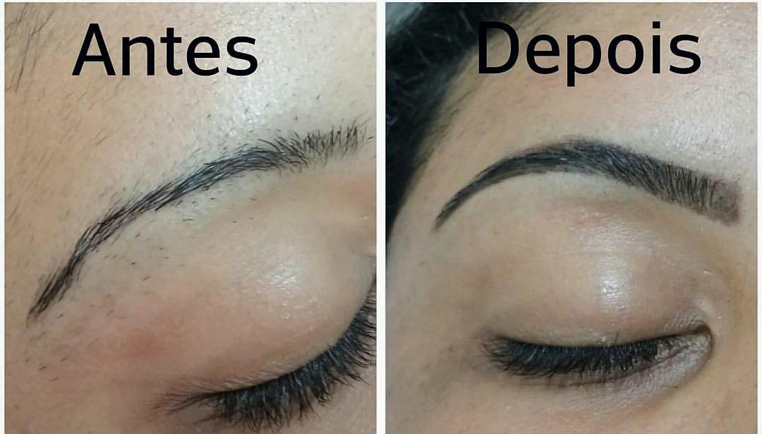 Correção com henna designer de sobrancelhas micropigmentador(a) depilador(a)